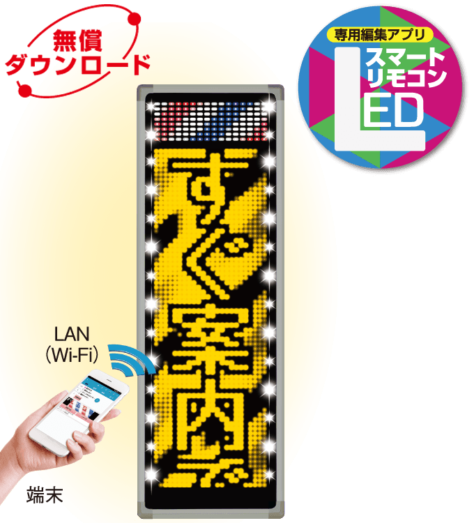 LEDスマートリモコンのイメージ